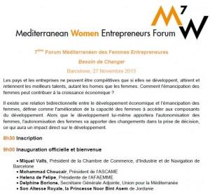 Mediterranean Women Entrepeneurs Forum