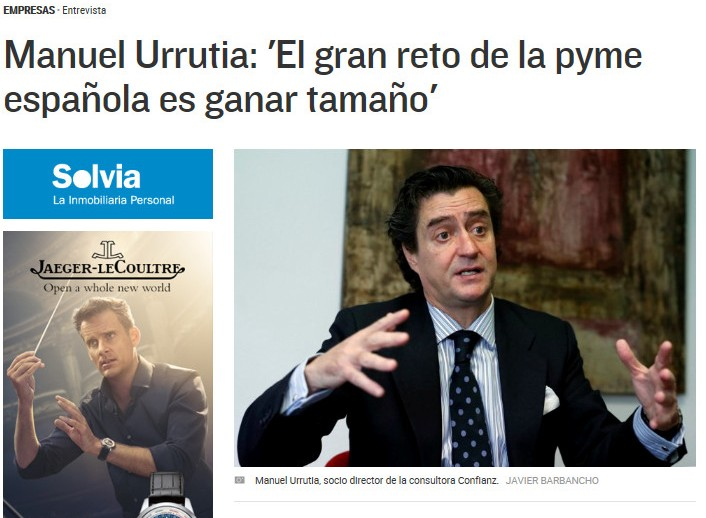 """""""El gran reto de la pyme española es ganar tamaño"""""""