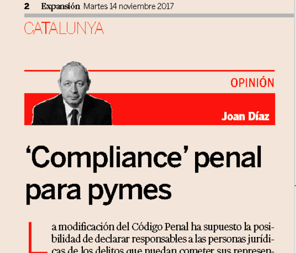 Compliance Penal para pymes