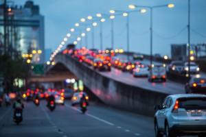 38284001 - blurred traffic