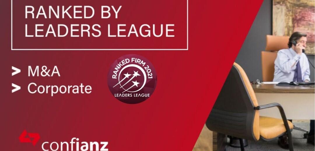 La firma Confianz reconocida por el ranking Leader League