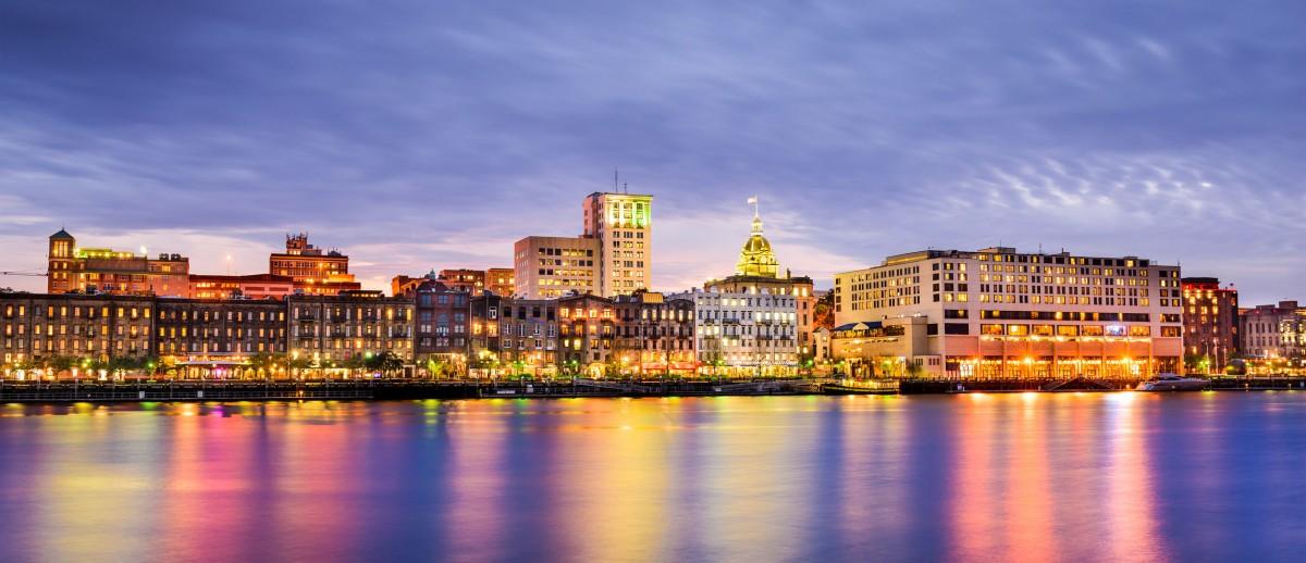 Savannah, Georgia Riverfront